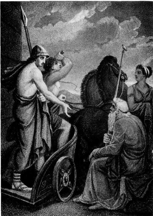 Телемах спрашивает у Нестора о судьбе своего отца Одиссея