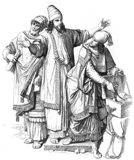 Костюма в иллюстрациях древний мир