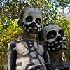 Папуасы из племени скелетов (18 фото)