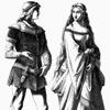 История костюма в иллюстрациях: 14 век